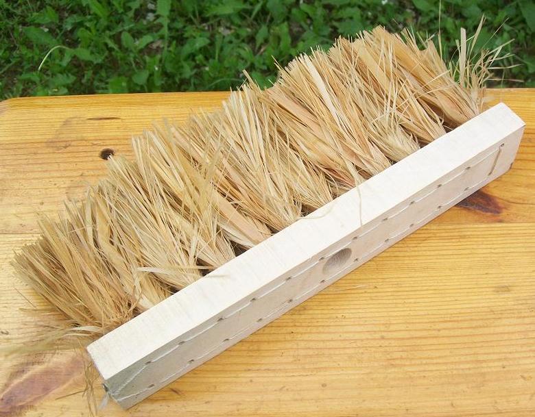 Щетка-швабра мочальная на деревянной колодке