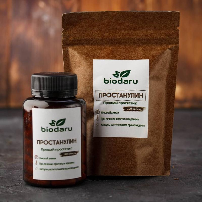 Природное средство от простатита - Простанулин