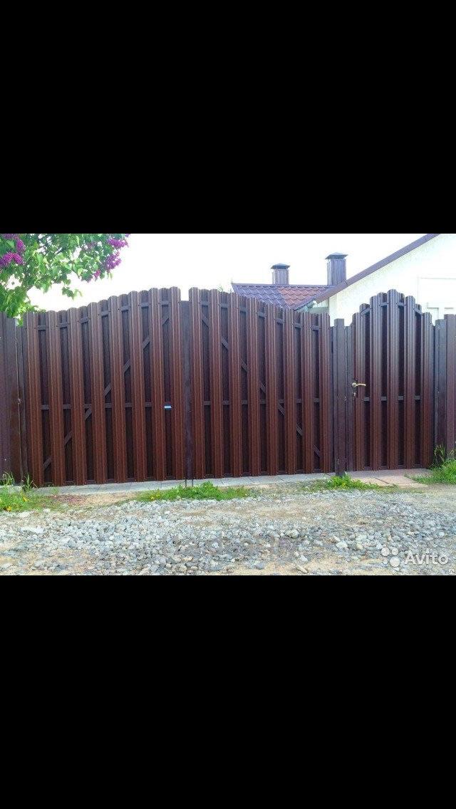 Заборы и Ворота любой сложности по самым низким ценам