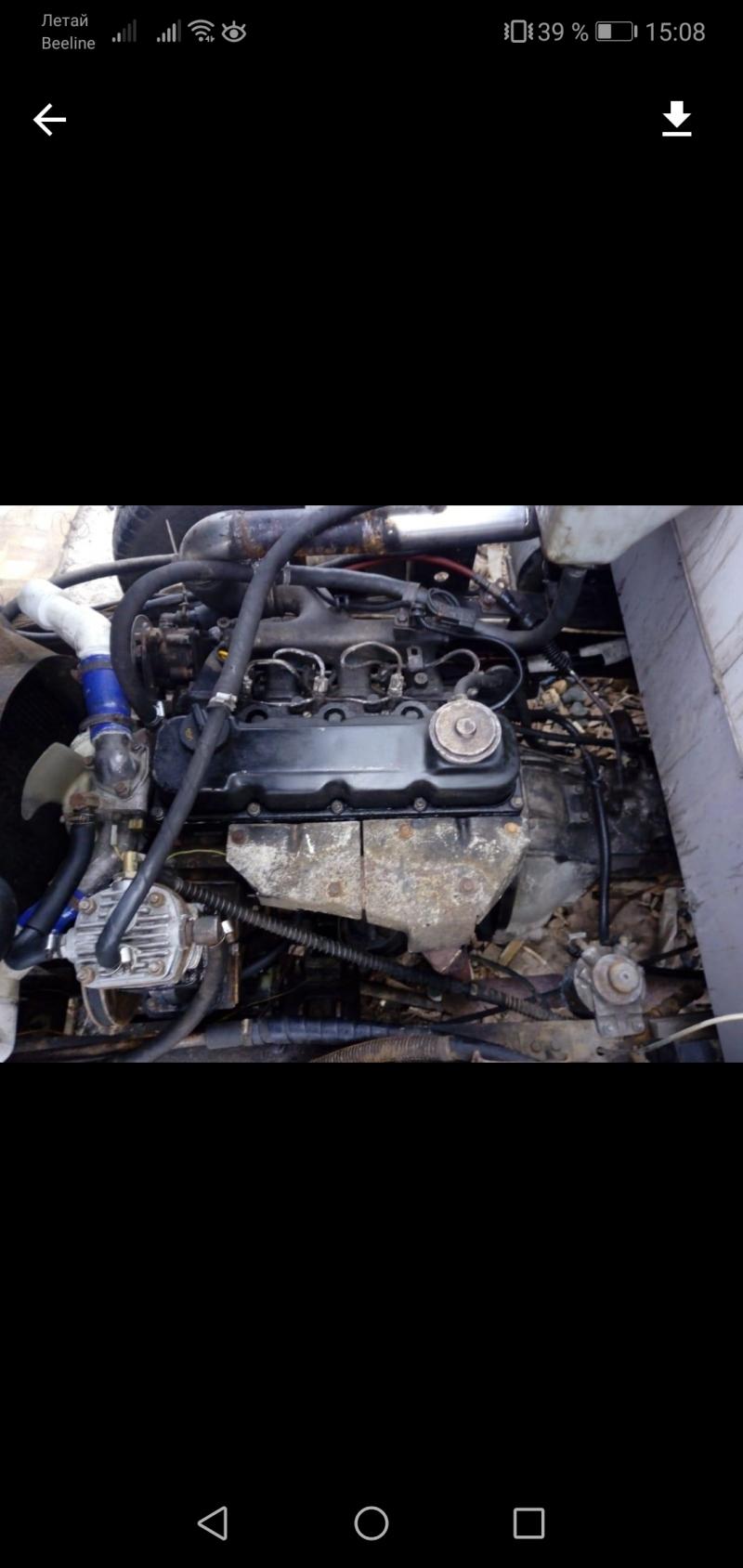 Продам двигатель Nissan Atlas td27.