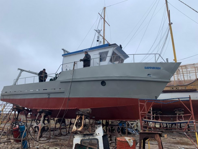 Промысловое судно БПМ-74 рыболовное судно