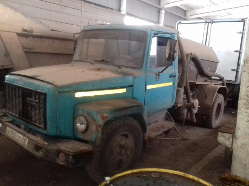 Ассенизатор ГАЗ 3307 1991 года выпуска