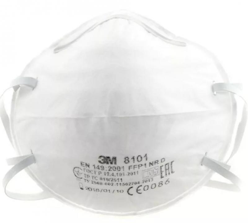 3м 8101 маска респиратор аэрозольная 1 класс