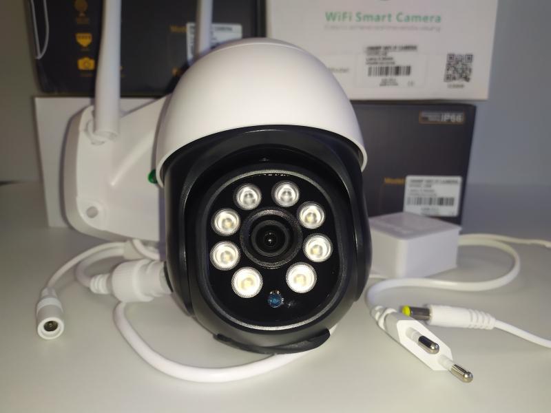 Камера видеонаблюдения 5мп , поворотная.