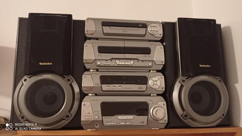 Продам стереосистему с проигрывателем компакт-дисков SC-EH750 Technics