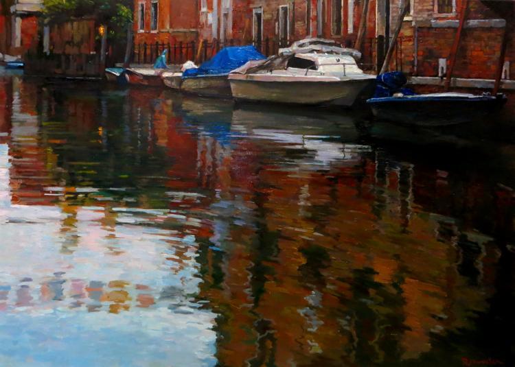 Венецианский мотив. Отражаясь в зеркале канала
