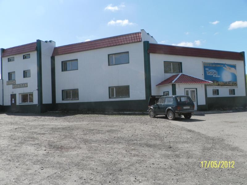 Продам помещение 550 м2 , на въезде Красного камня  Киселевск
