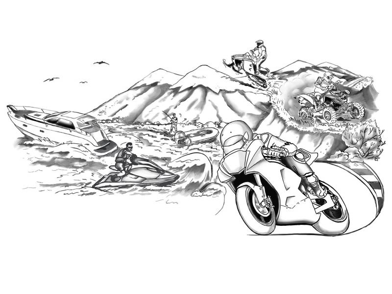 Ремонт лодочных моторов, квадроциклов, снегоходов ,гидроциклов,катеров