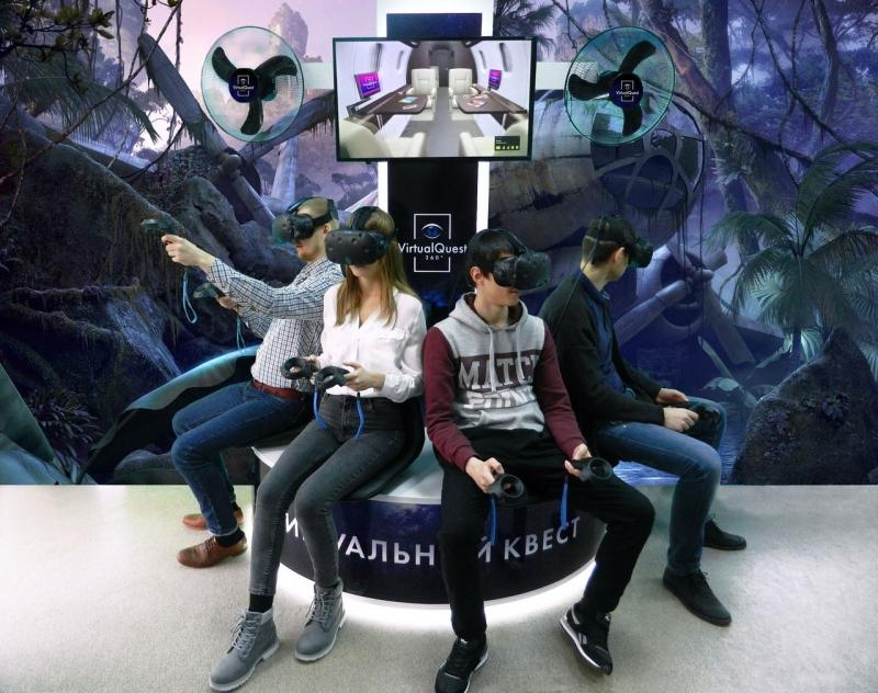 Виртуальный квест и компьютерные игры VR