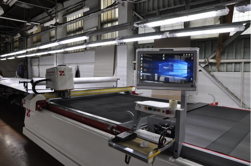 Автоматический Раскройный комплекс для ткани Investronica Topaz