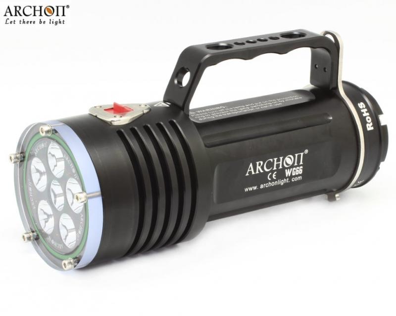 Профессиональные подводные фонари ARCHON и аксессуары к ним