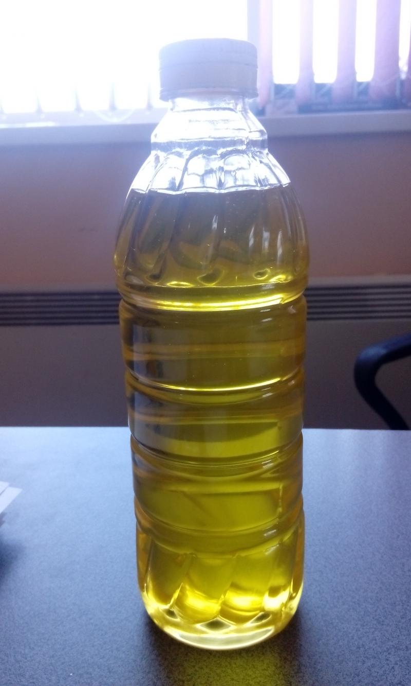 Масло подсолнечное из очищенной семечки
