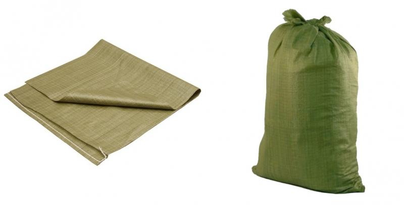 Мешок зелёный