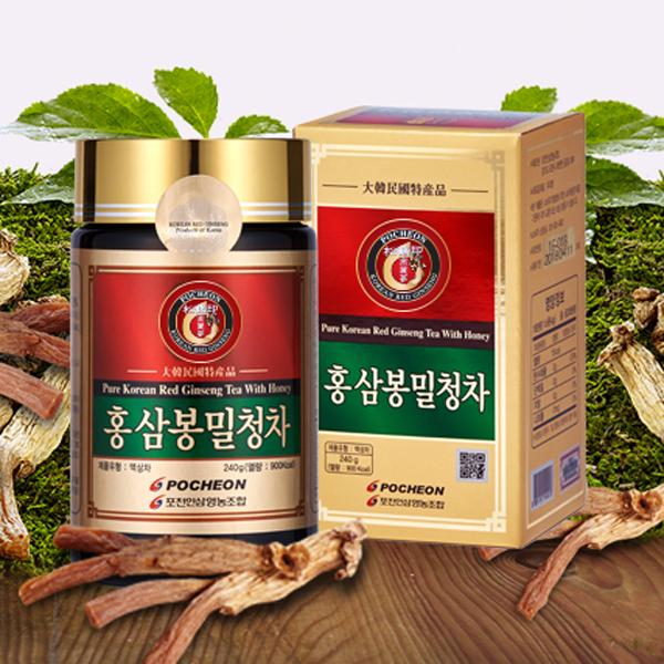 Экстракт красного женьшеня с медом, 240мл (Pocheon)