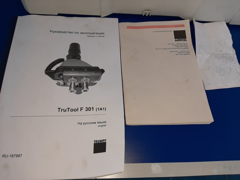Фальцеосадочная машинка TRUTOOL F 301