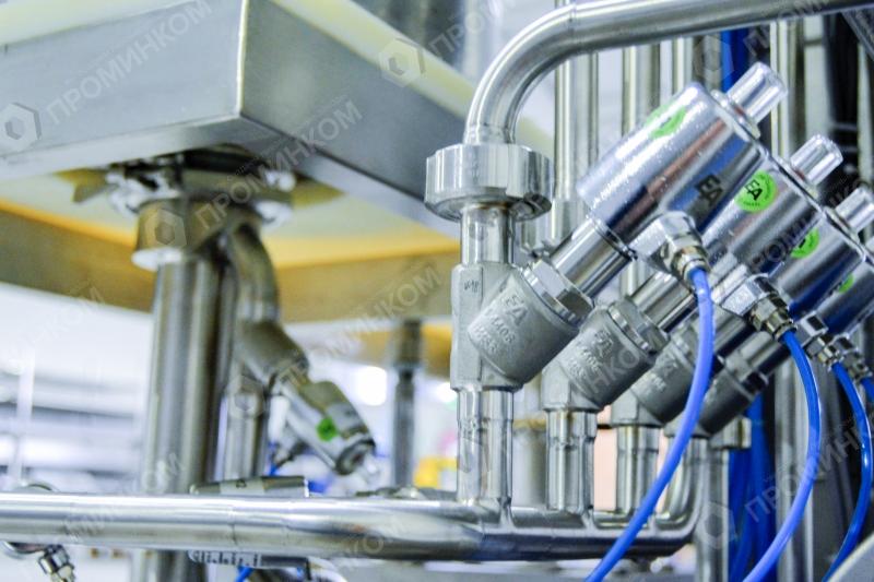 Автоматическая мойка, стерилизация и розлив в КЕГи КЕГ-35МН