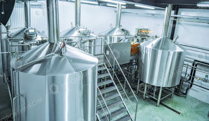 Пивоваренный завод до 200 000 л/месяц вп5-10А