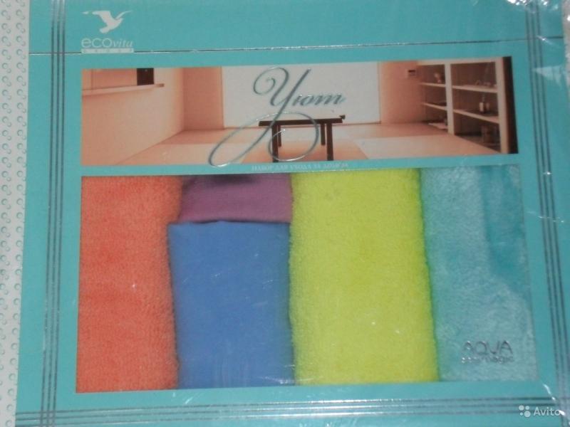 Комплекты салфеток для уборки дома без бытовой химии