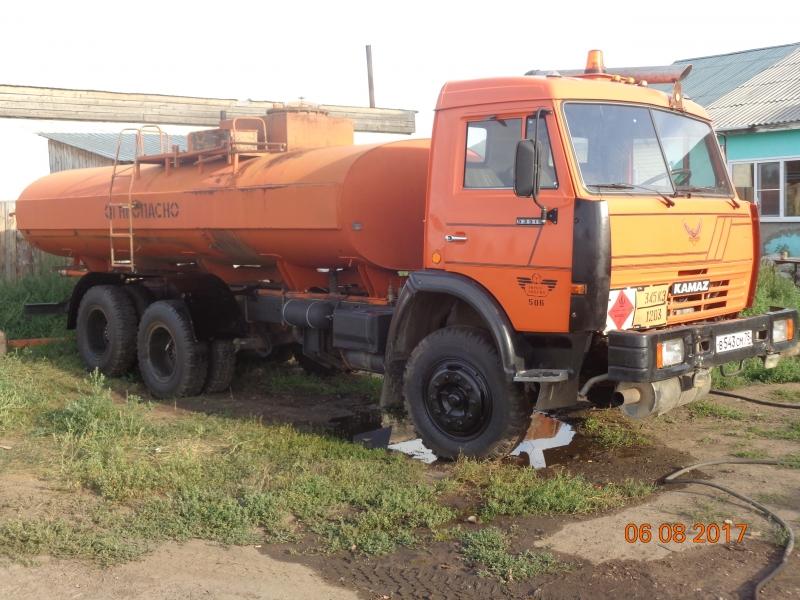Продам КАМАЗ 53215- автотопливозаправщик