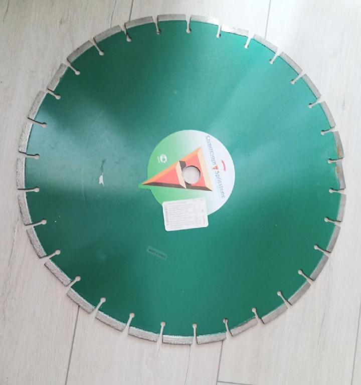 Отрезной алмазный диск по асфальту