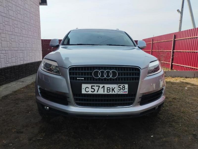 Audi Q7, 2007 3l.TD 233л.с