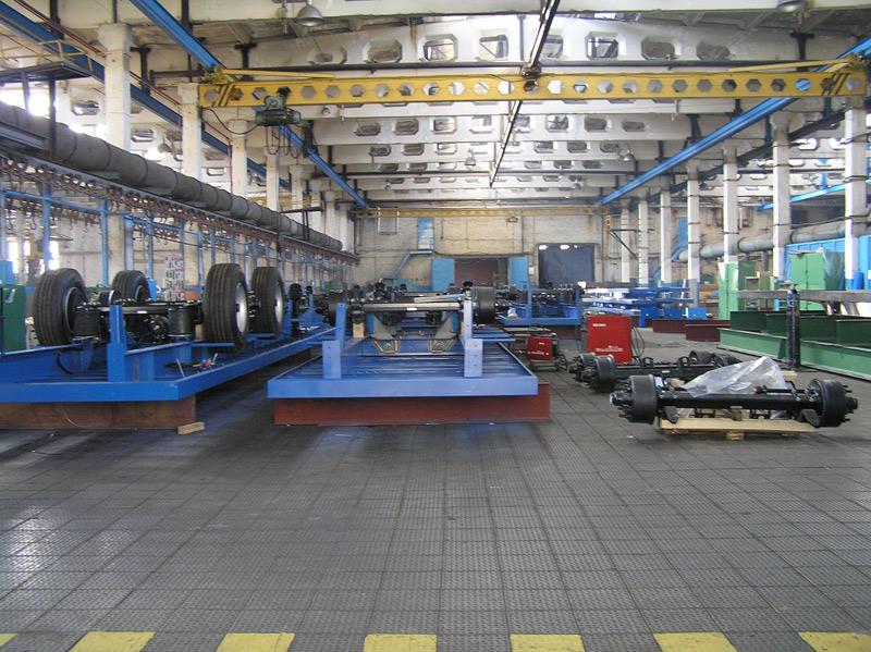 Промышленные полы из плитки