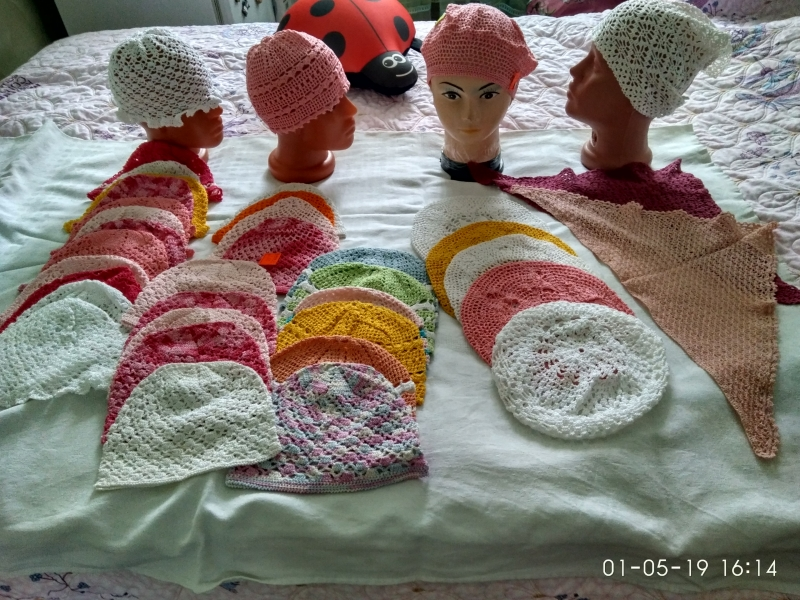 головные уборы для детей (летний ассортимент)