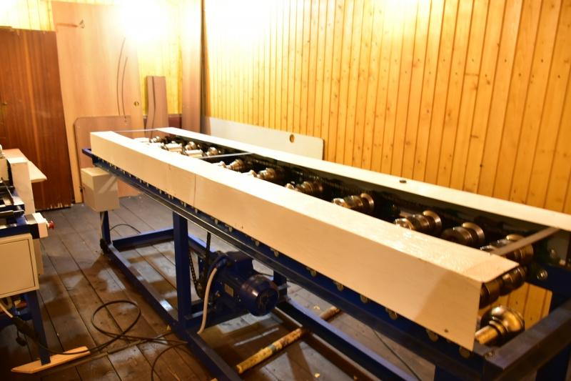 Оборудование для производства 3-х видов евроштакетника.