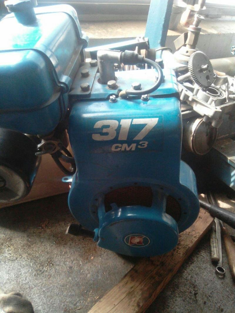 Б/у двигатель ДМ-1 к мотоблоку Нева МБ-2 год выпуска 1997 года