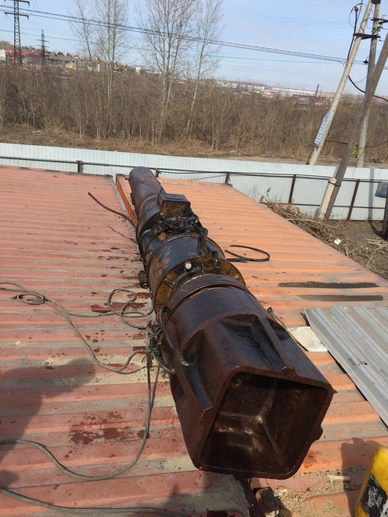 Дизель молот СП-76