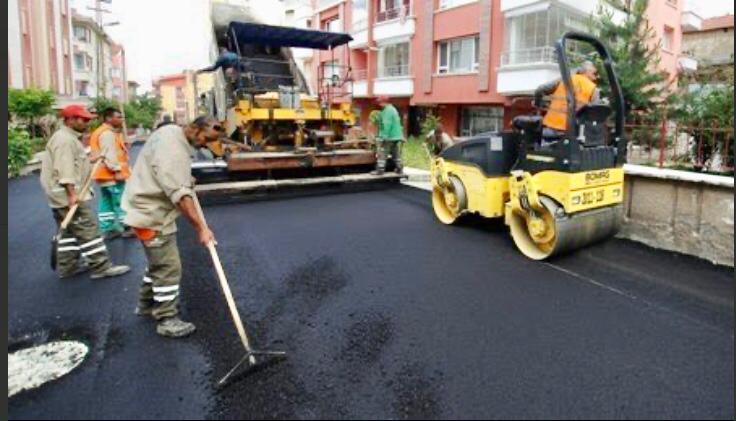 Асфальтирование и ремонт дороги в Новосибирске