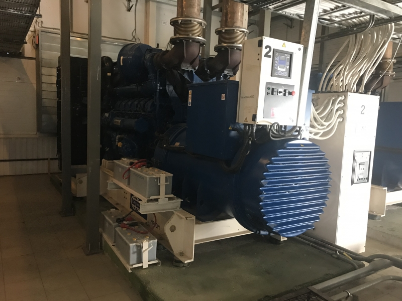 Дизель-генератор FG Wilson P1875E1/P1700P1