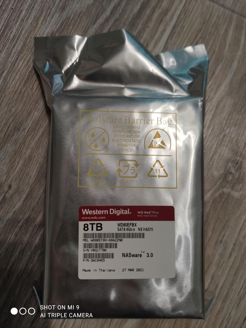 WD Red Plus WD80EFBX 8TB