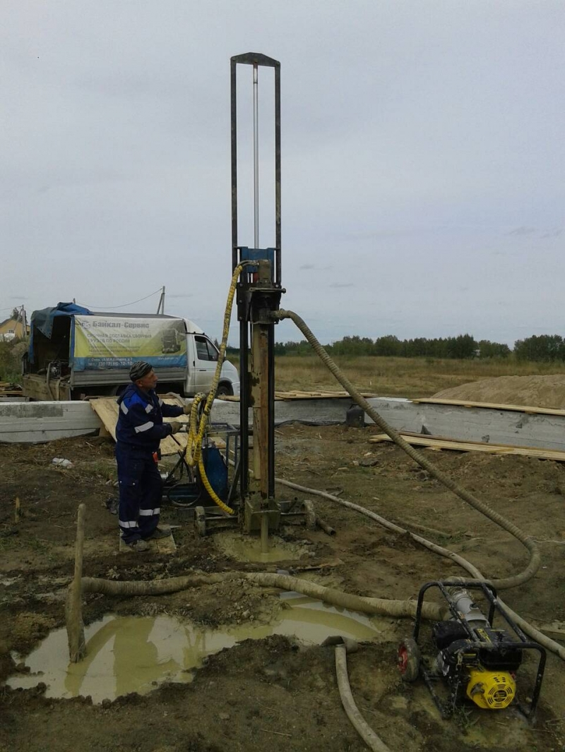 Бурение скважин на воду в Омске и области