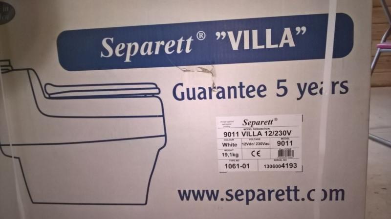 "Биотуалет Separett ""VILLA"" 9011. Пр-во Швеция"