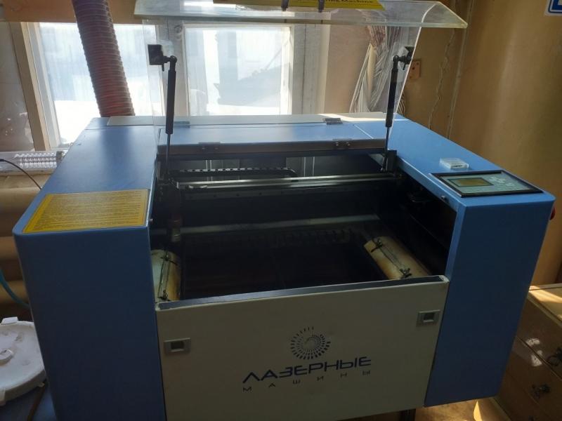 Лазерный гравер 600*400 мм, б/у