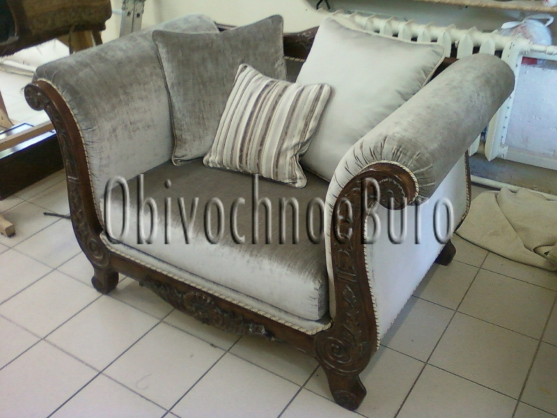 Надежная обивка и перетяжка вашей мебели