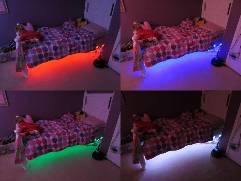Подсветка для детской кровати