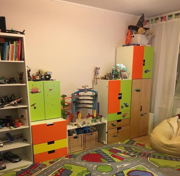 Продам мебель в детскую икея. Бонус шторы