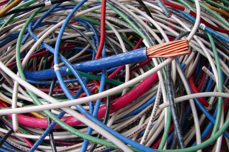 Б/у кабель, лом кабеля, выкуп