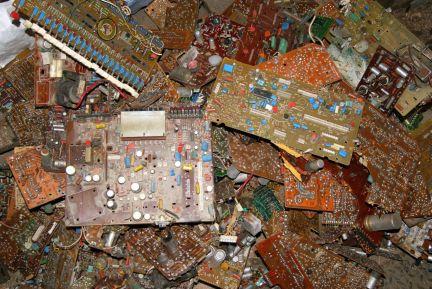 Утилизация радиоэлектронного оборудования