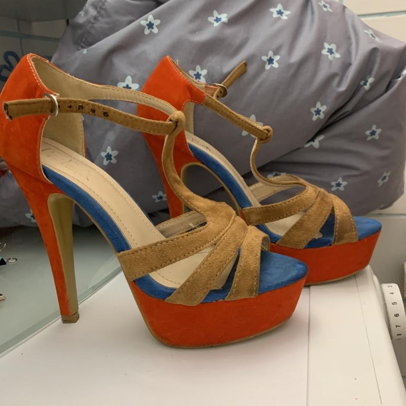 Летняя обувь на каблуке