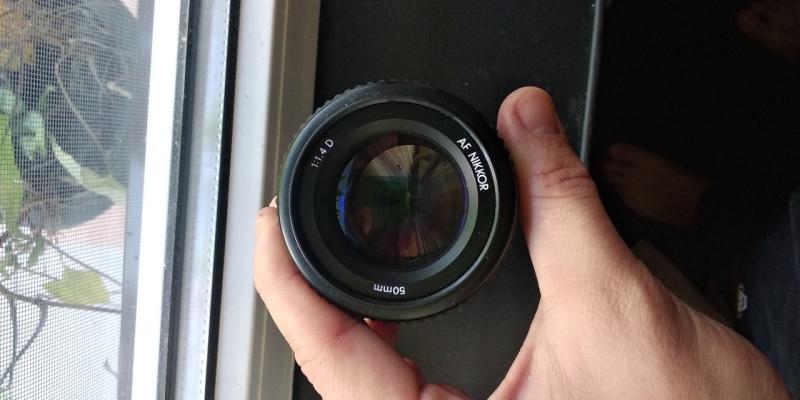ОБЪЕКТИВ NIKON 50mm 1:1.4 D