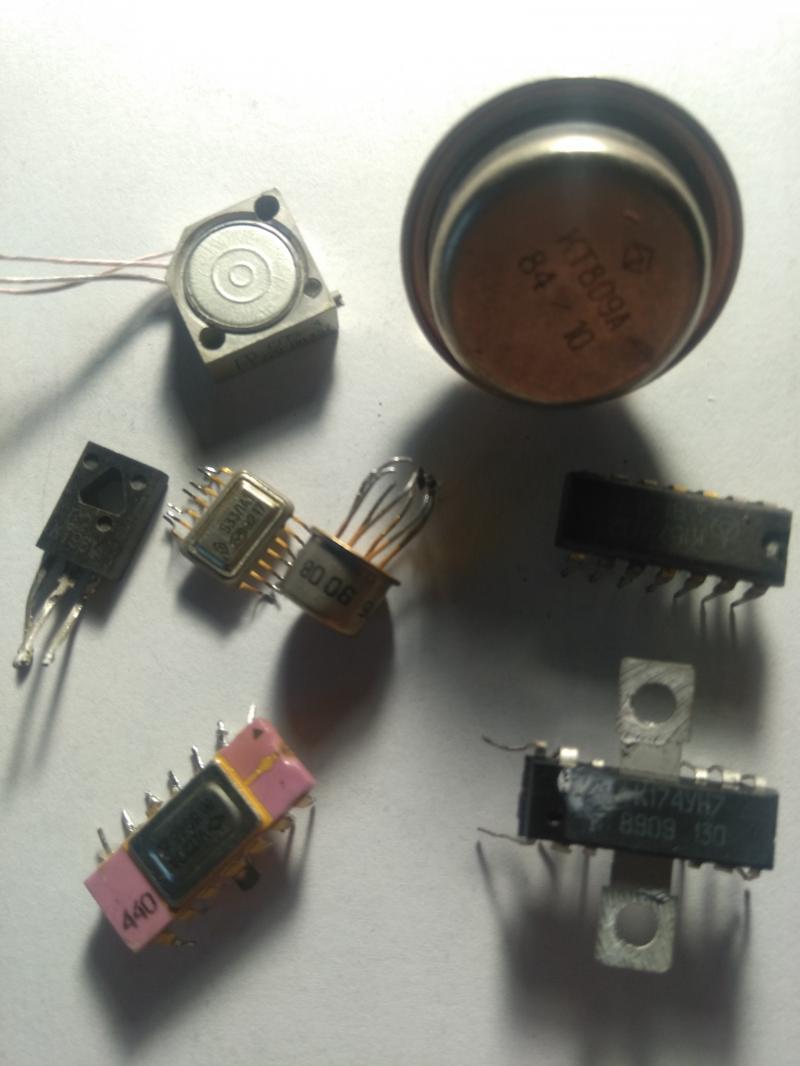 Куплю транзистори кт 814-940 по 0,18$-1 шт. Кт 803-908 по 1,2$-1шт. и др.детали