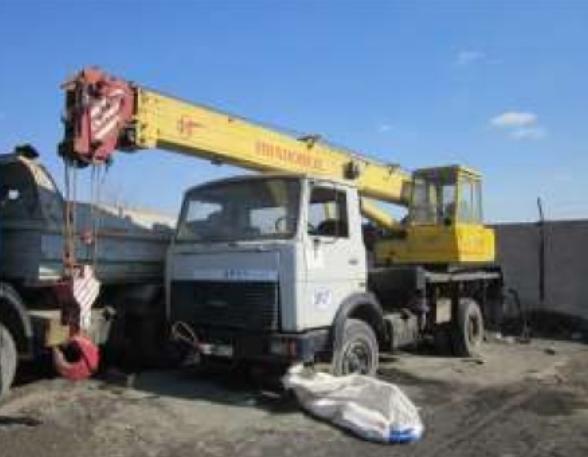 Автокран КС 35715-1 МАЗ 5337