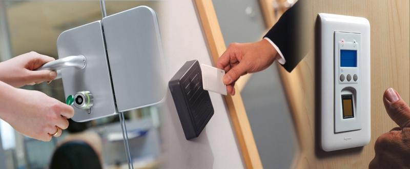 Монтаж системы контроля доступа