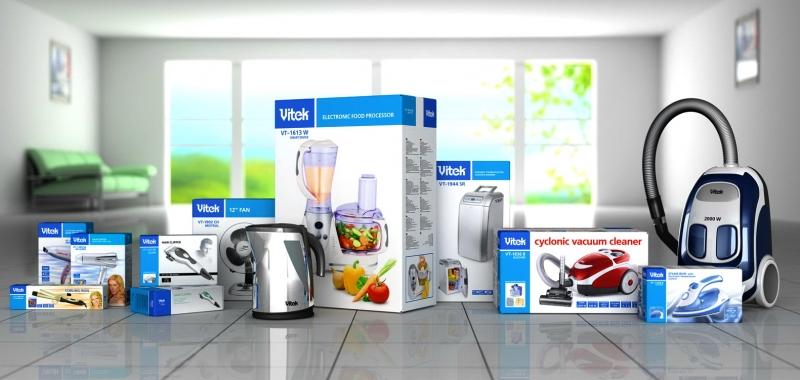 Отличные цены на бытовую технику Vitek