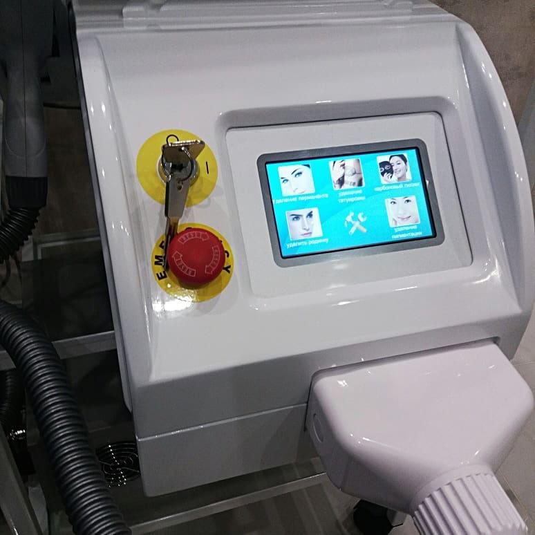Неодимовый лазер для карбонового пилинга и удаления тату
