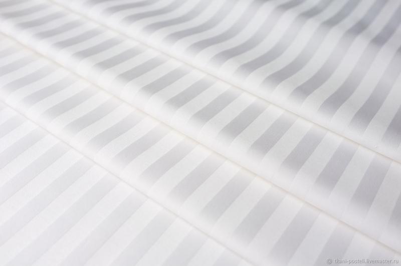 Продается ткань Сатин страйп 1 см