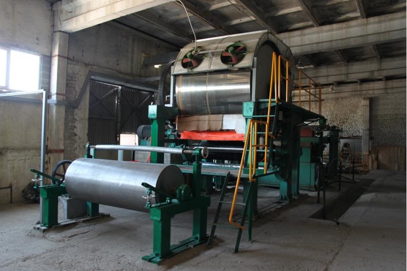 Завод по производству целлюлозы и бумаги из соломы и из древесных опилок